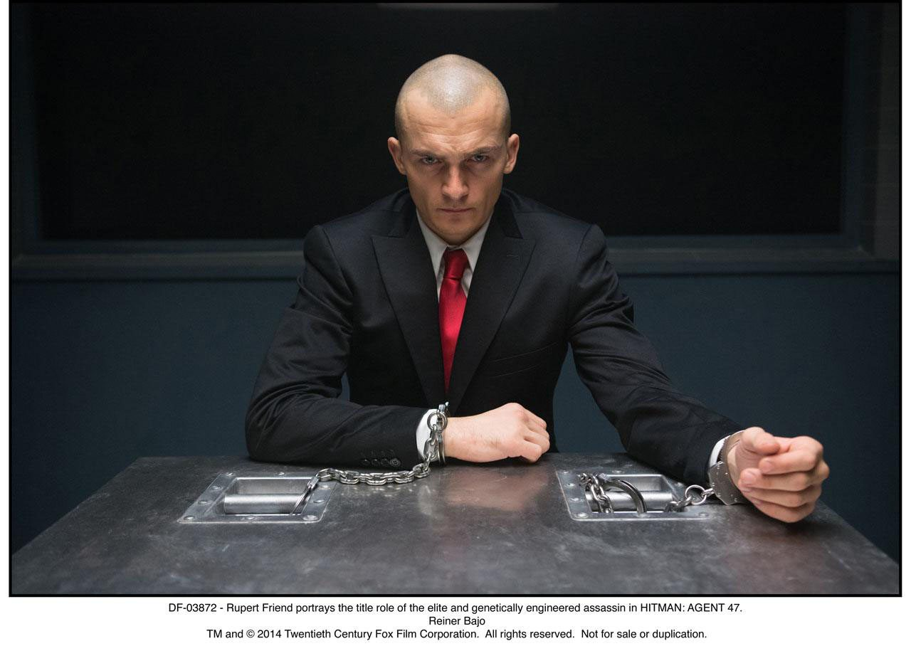 Hitman Agent 47 Gaming Cypher