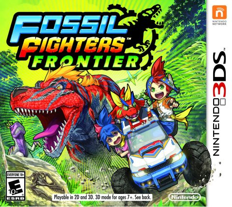 Unearth Extreme Adventure in Fossil Fighters: Frontier for Nintendo 3DS