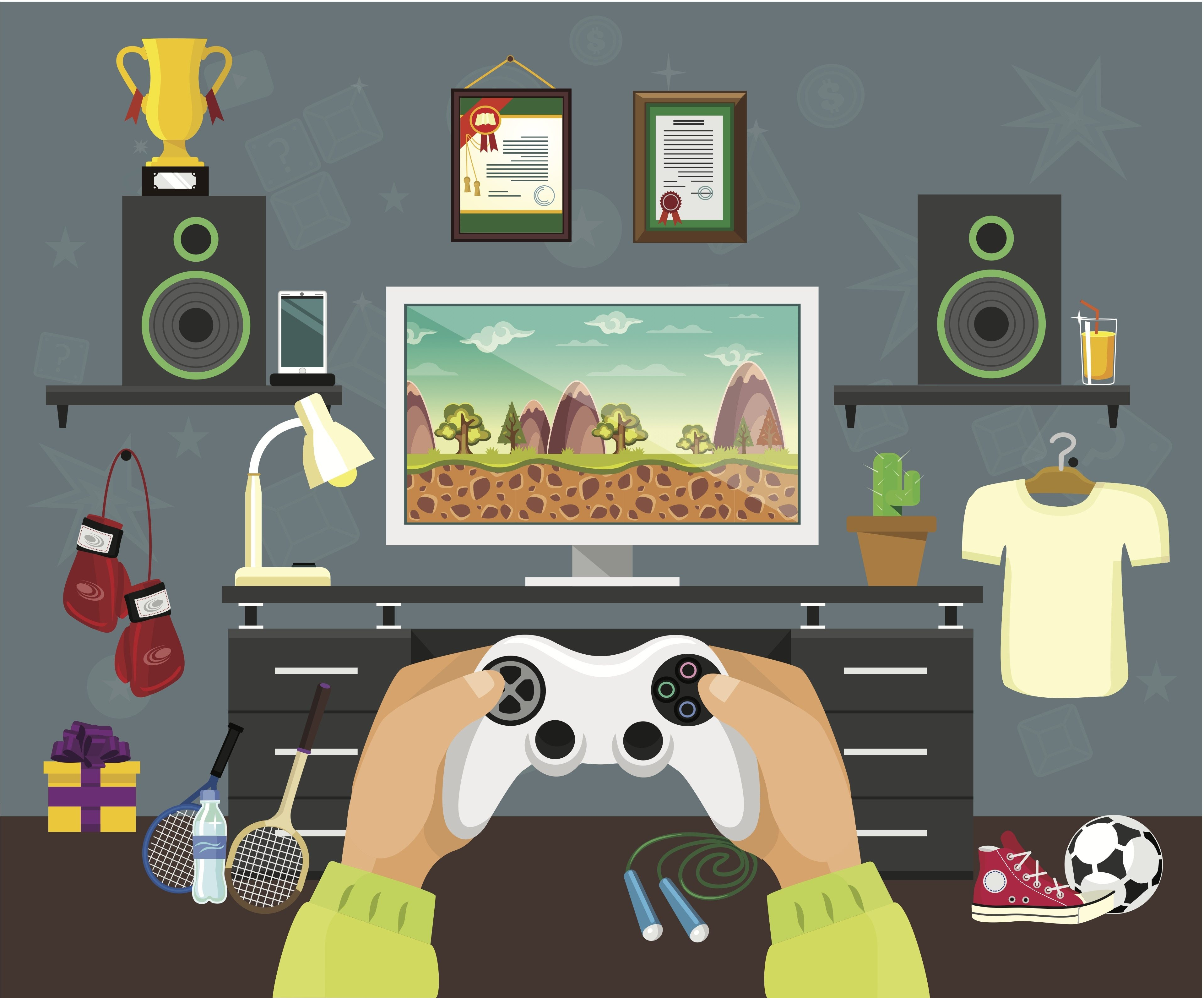 Level Up Your Game Room With These Design Tips