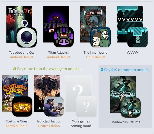 Humble PC & Android Bundle 12 is Now Live