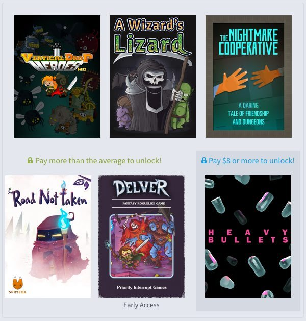 Humble Weekly Bundle Roguelikes 2 Gaming Cypher