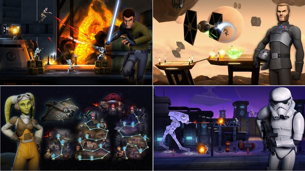 Star Wars Rebels: Recon Missions New Mobile Game