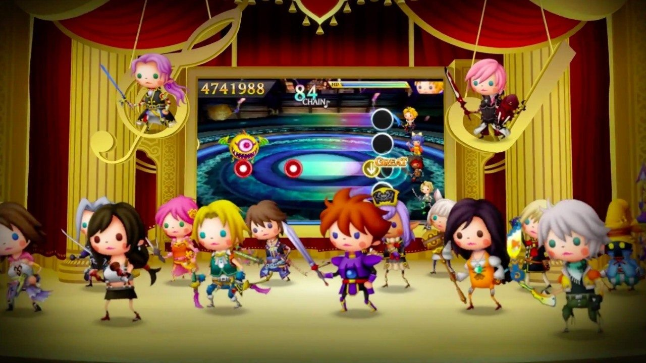 Theatrhythm Final Fantasy Curtain Call Final Installment of 2nd Performance DLC Now Available