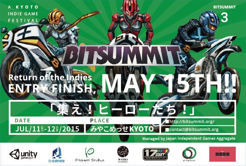 BitSummit 3: Return of the Indies Submissions Now Open