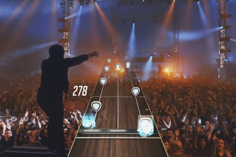 Stephen Curry & Shaq Lip Synch to Ed Sheeran's SING in World Premiere Video Playable in Guitar Hero
