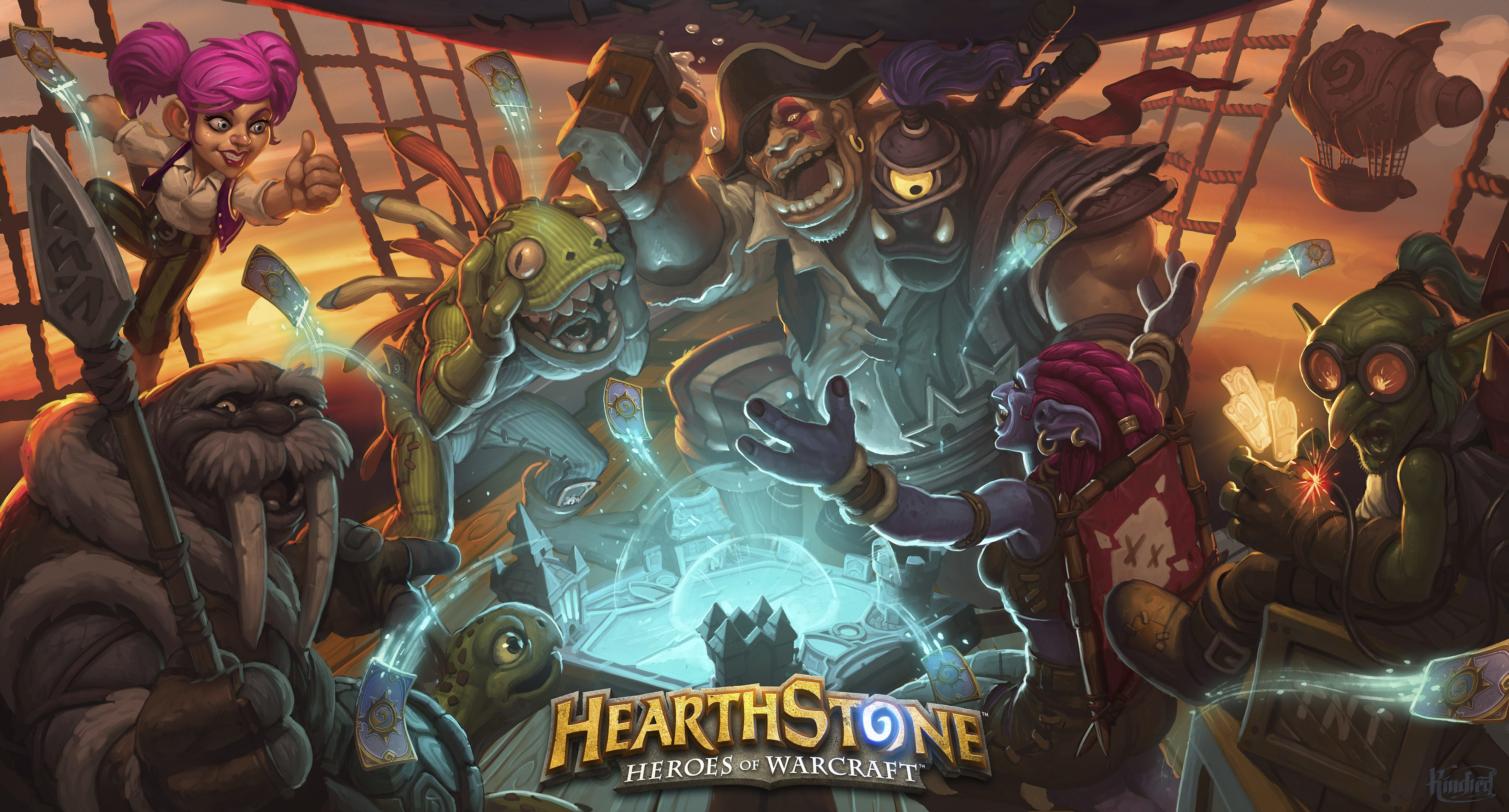 Hearthstone Heroes of Warcraft Goes Fully Mobile Gaming Cypher