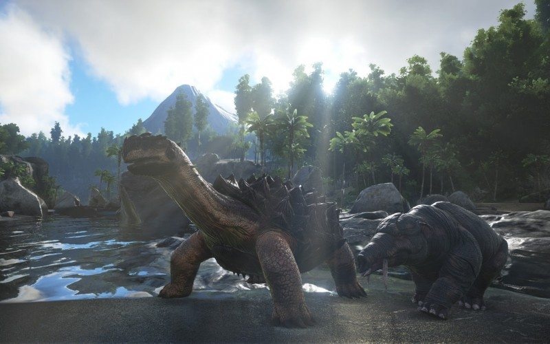 ARK: Survival Evolved Expands With New Snow and Swamp Biomes