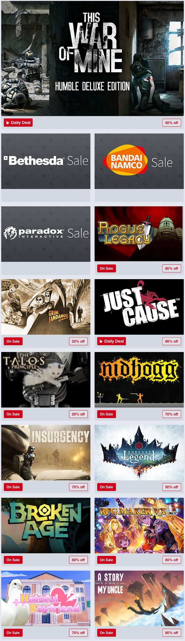 Humble Store Spring Sale Gaming Cypher 3