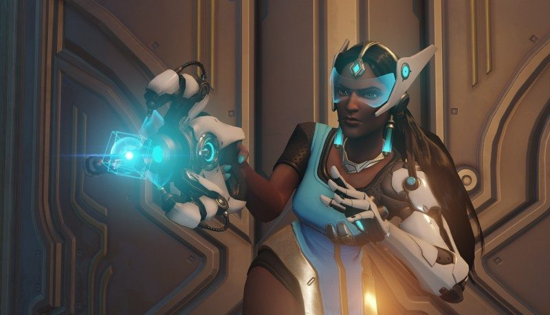 OVERWATCH Symmetra Gameplay Preview by Blizzard