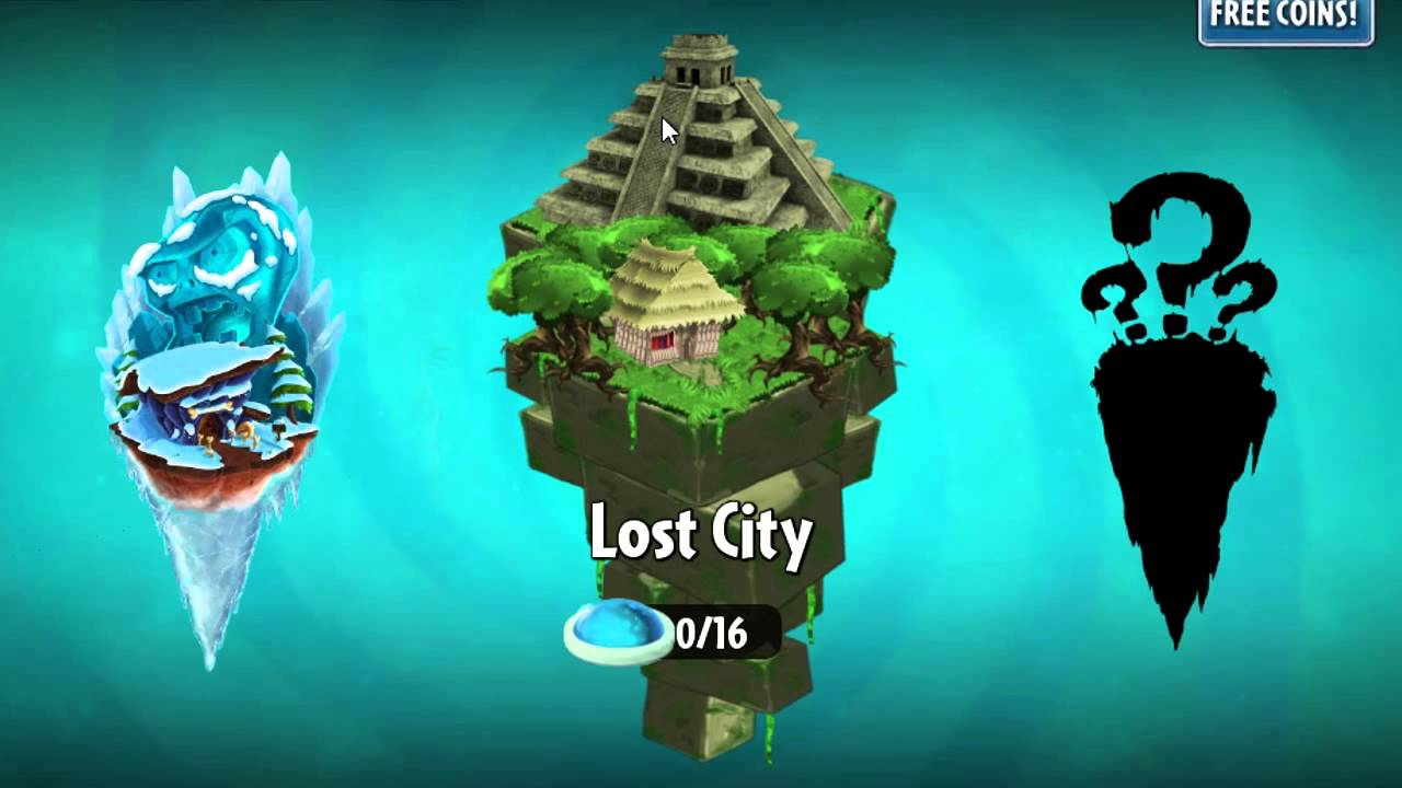Plants vs. Zombies 2 Lost City Gaming Cypher