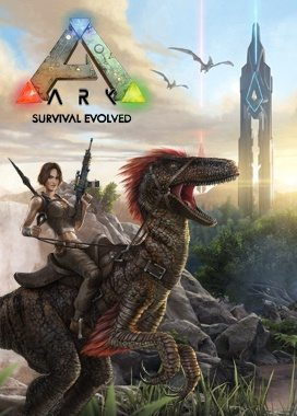 Ark Survival Evolved Box Art Gaming Cypher