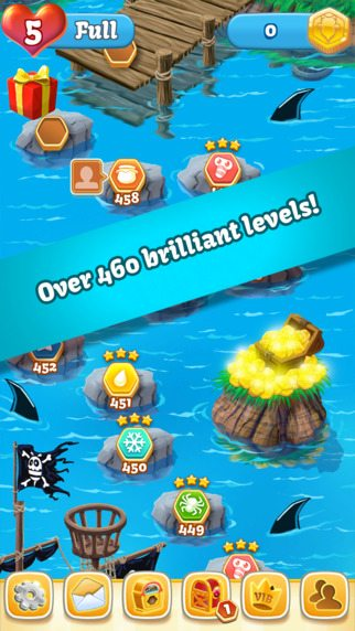 Bee Brilliant: Pirates Now Available for Mobile