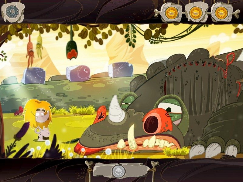 New iOS Trailer Released for Stone Age adventure FIRE
