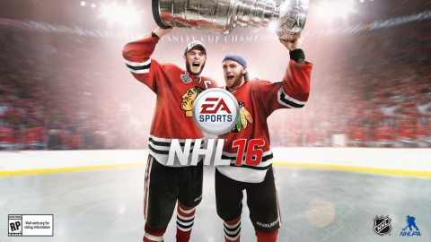 EA Sports NHL 16 Reveals 2015 Stanley Cup Champions Jonathan Toews and Patrick Kane as Cover Athletes