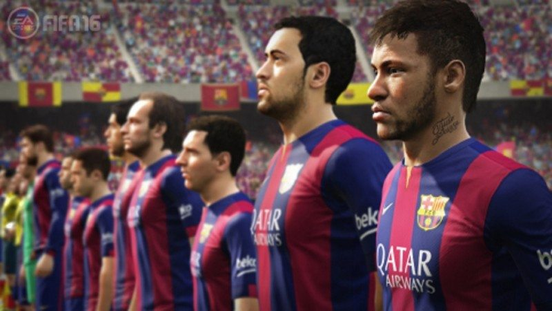 E3 2015 FIFA 16 Innovates Across the Entire Pitch