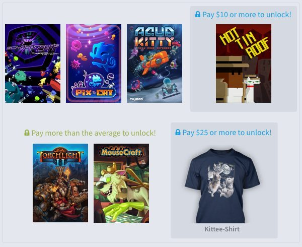 Humble Weekly Bundle Cats, Cats, Cats is Now Live