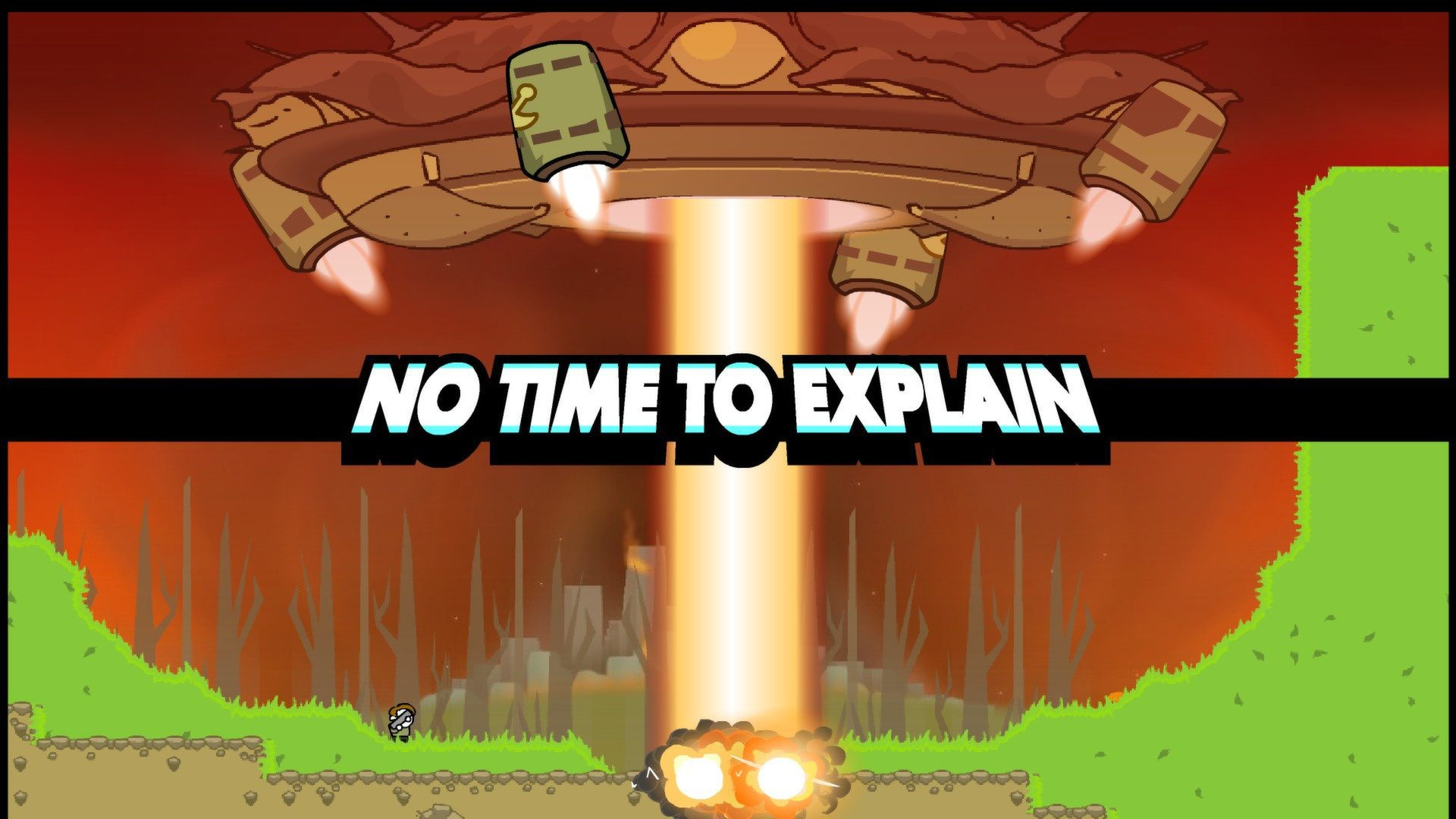 No Time To Explain Gaming Cypher