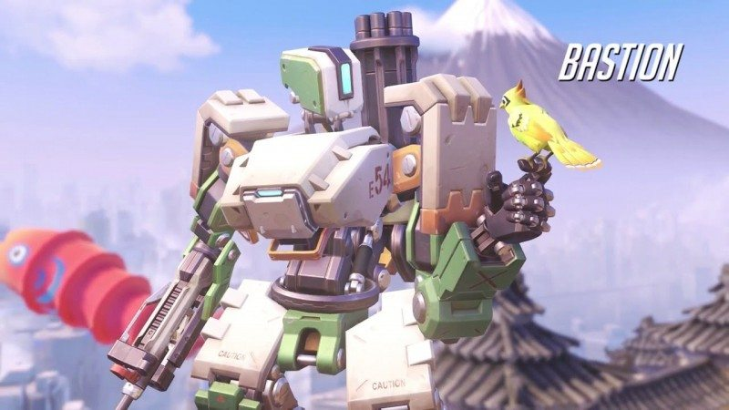 Overwatch Bastion Gameplay Preview by Blizzard