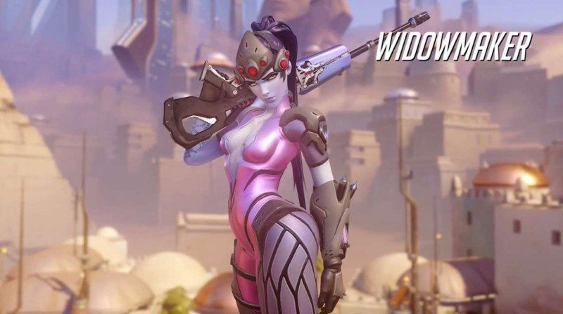 Overwatch Widowmaker Gameplay Preview by Blizzard