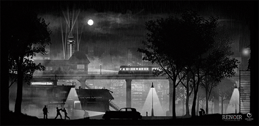 RENOIR is Noir Story Driven Puzzle Platformer Now on Kickstarter