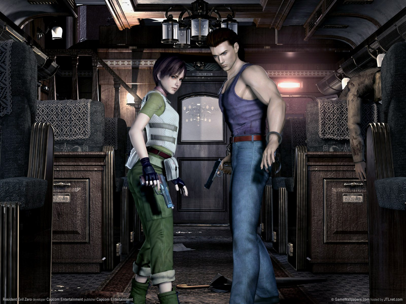 Resident Evil 0 Gaming Cypher