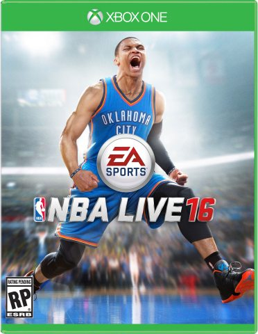 Russell Westbrook Named NBA LIVE 16 Cover Athlete