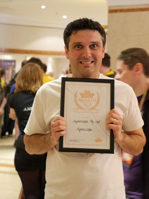 Syrinscape Awarded Best Gaming Accessory at UK Games Expo