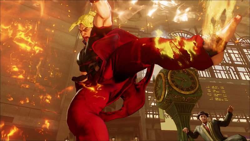 Street Fighter V New Character Ken Added & Playable at Comic-Con