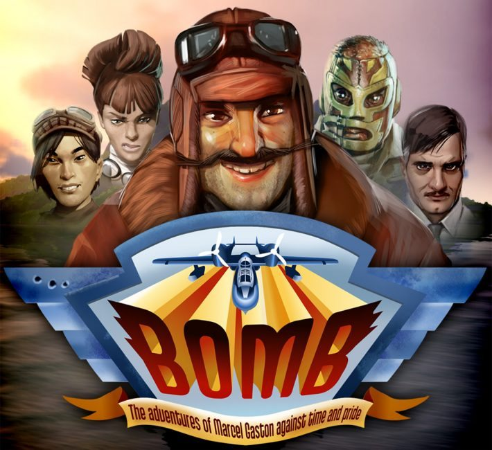 BOMB Arcade Air-Combat Action Now on Steam