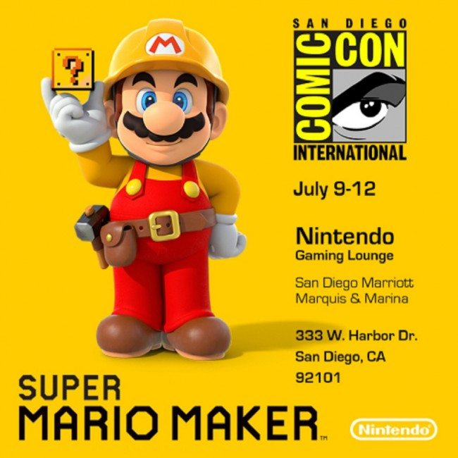Super Mario Maker, amiibo and Nintendo 3DS Take Center Stage at San Diego Comic-Con