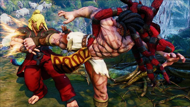 Street Fighter V New Character Necalli Added and Gameplay Details Revealed at EVO 2015