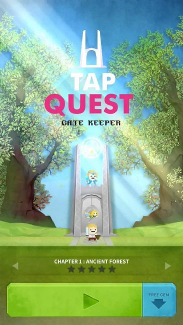 Tap Quest Launching for iPhone, Screenshots and Trailer