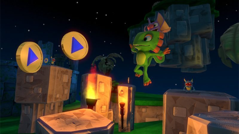 Team17 Partners with Playtonic Games for 3D Platformer Yooka-Laylee
