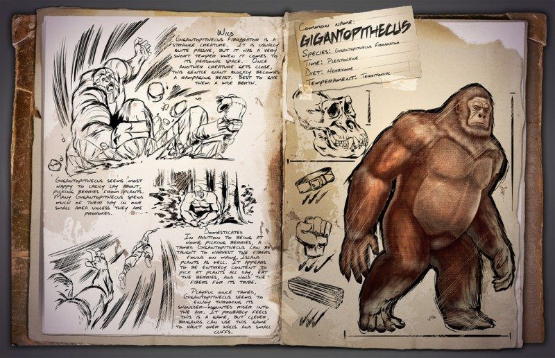Gigantopithecus Storms into ARK: Survival Evolved
