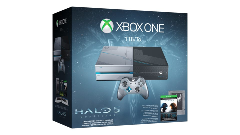 Gamescom 2015 halo 5 guardians limited edition hardware announce