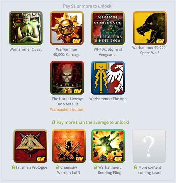 Humble Games Workshop Warhammer Mobile Bundle Now Live Gaming Cypher 2