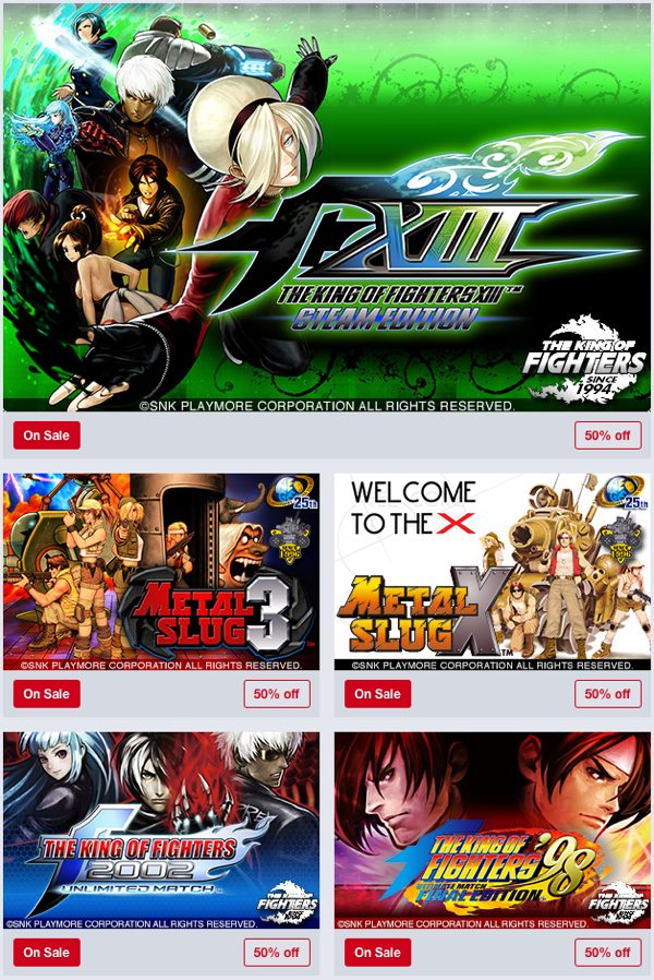 Humble Store SNK Weekend Sale Now Live