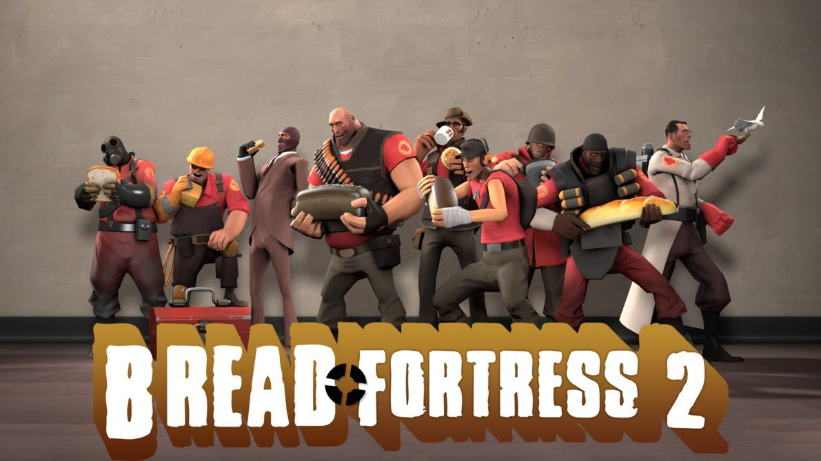 I Am Bread Team Fortress 2 Gaming Cypher