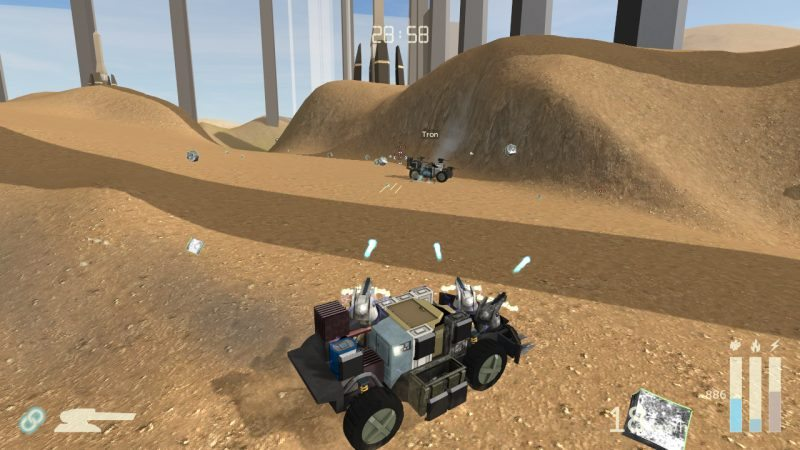 SCRAPS Modular Vehicle Combat Simulator Now on Steam Early Access