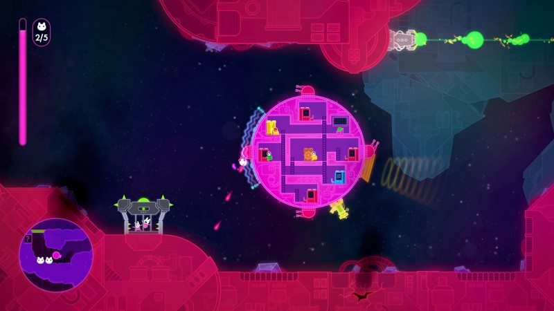 Lovers in a Dangerous Spacetime Dated for Xbox One and Steam