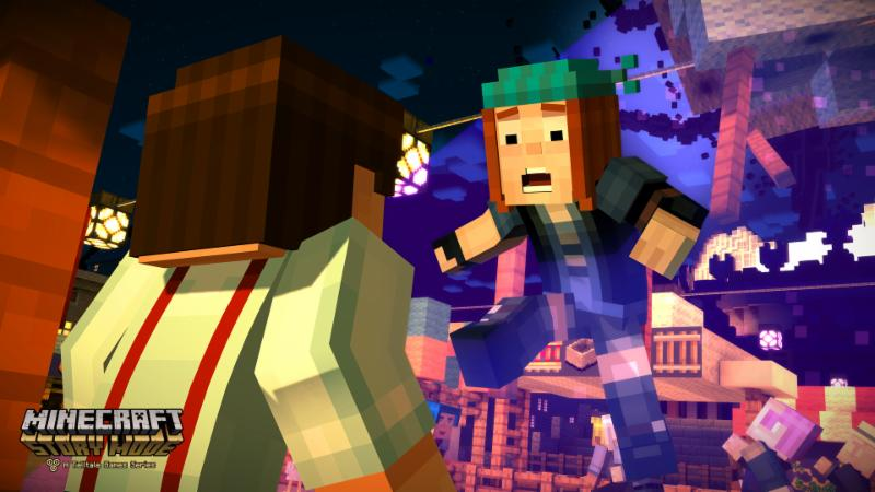 Minecraft: Story Mode - A Telltale Games Series Features Selectable Player Character