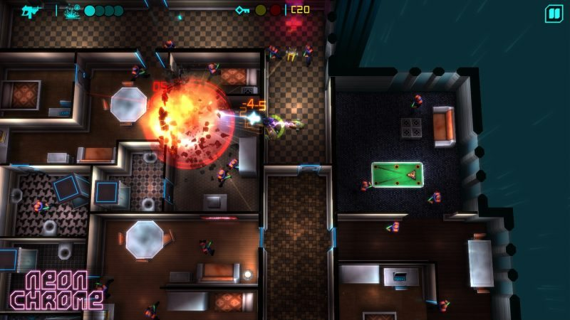 Help Support NEON CHROME on Steam Greenlight, New Trailer