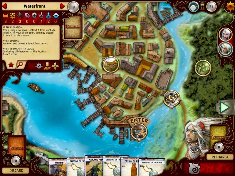 Obsidian's Pathfinder Adventure Card Game to Make PAX Prime Debut