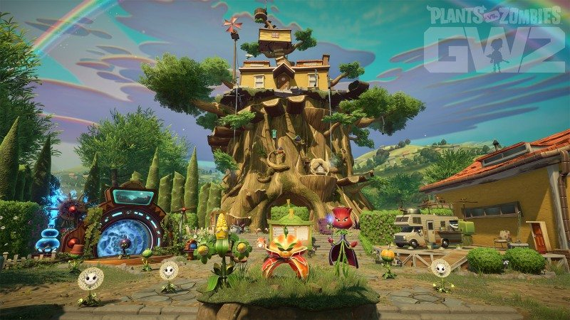 gamescom 2015: Plants vs. Zombies Garden Warfare 2 Introduces More Ways to Play With New Backyard Battleground