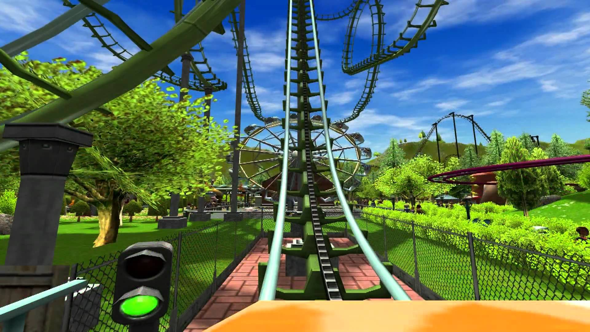 RollerCoaster Tycoon 3 Gaming Cypher
