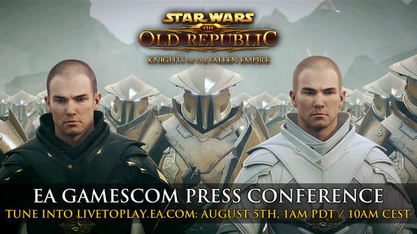 gamescom 2015: STAR WARS: The Old Republic Knights of the Fallen Empire 'Become the Outlander' Gameplay Trailer