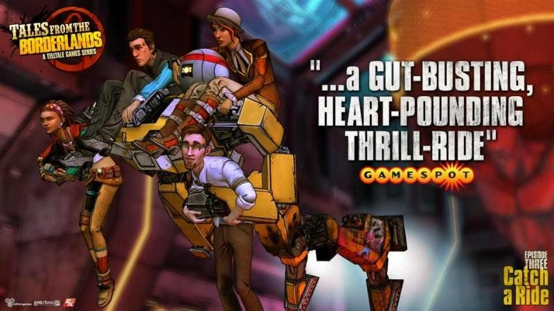 PAX Prime: Tales from the Borderlands Episode 4  LIVE Crowd Play