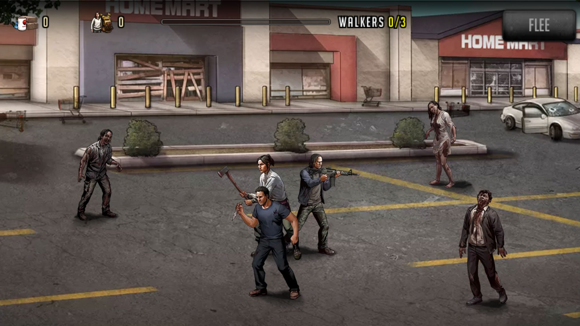 The Walking Dead Road to Survival Gaming Cypher 2
