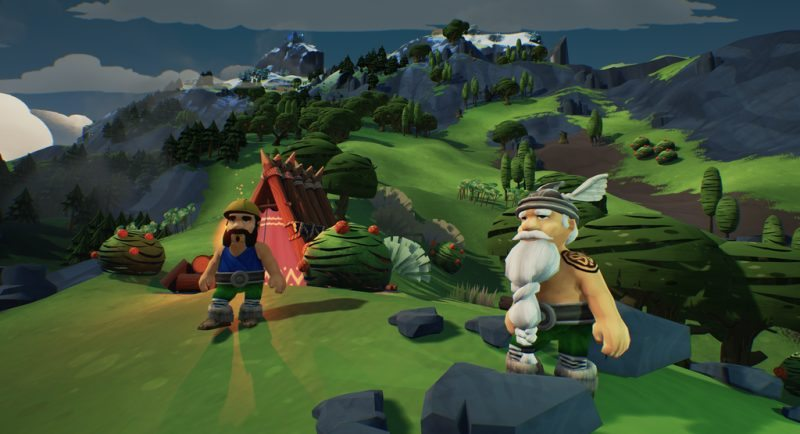 Viking Civilization-Builder Valhalla Hills Released on Early Access Today