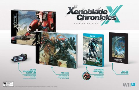 Xenoblade Chronicles X Special Edition Launches on Dec. 4